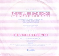 There Ll Be Sad Songs To Make You Cry Billy Ocean Lyrics